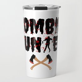 Zombie Hunter - Horror Infects Undead Blood Stain Travel Mug