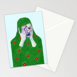 Sad Spring Stationery Cards