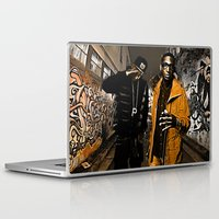 wiz khalifa Laptop & iPad Skins featuring Wiz & Tempah by D77 The DigArtisT