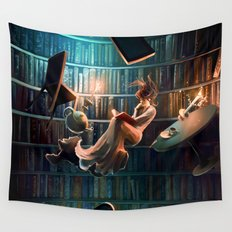 Need more than one life Wall Tapestry