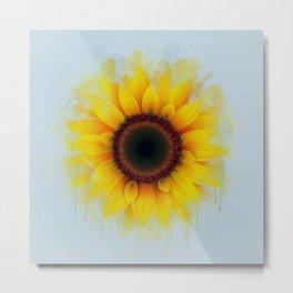 Sunflower Painting Metal Print