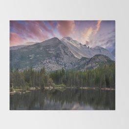 The Colorado Rockies Throw Blanket