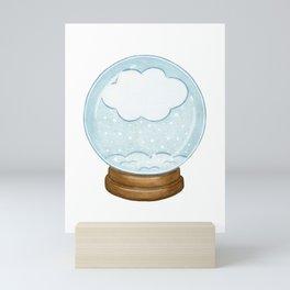 Snow Globe Mini Art Print