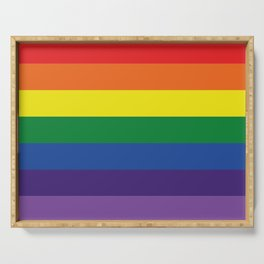 Pride flag LGBTQ Serving Tray