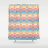 morocco Shower Curtains featuring EMMA MOROCCO by CHIN CHIN Design