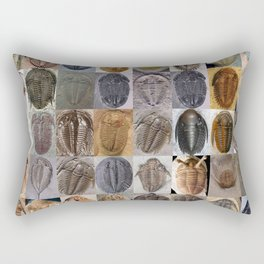 Trilobite Montage Rectangular Pillow