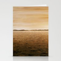 desert Stationery Cards featuring Desert by AhaC