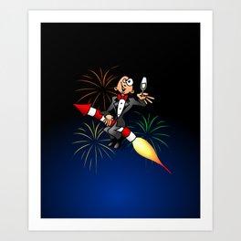 Happy New Year Art Print