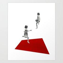 Play Ground Art Print