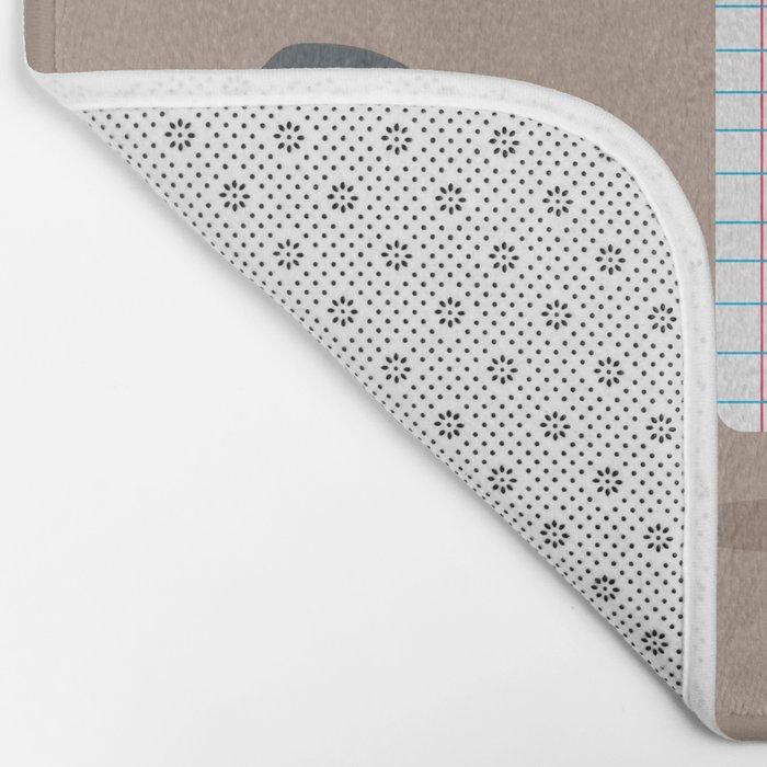 Rock paper scissors Bath Mat