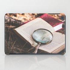 learn + explore. iPad Case