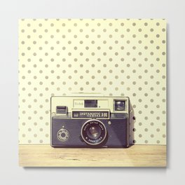 Vintage Camera Love: Kodak Instamatic! Metal Print
