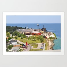 Port Huron Art Print