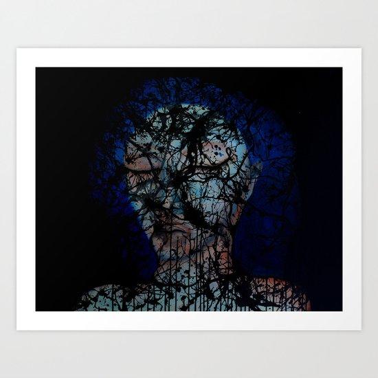 Vines and Confines  Art Print