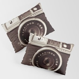 old camera photography, Camera photograph Pillow Sham