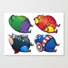 TUBY : Avengers Canvas Print