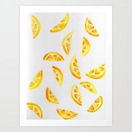 Citrus I Art Print