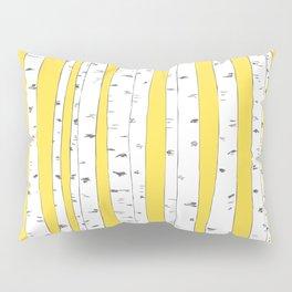 Aspen Forest - Yellow Pillow Sham