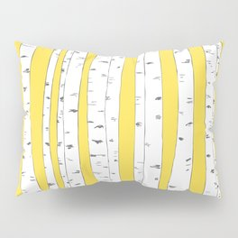 Aspen Forest - Yellow Pillow Sham