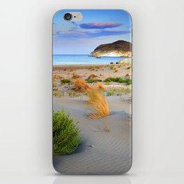"""Genoveses Beach"" Sunset at beach iPhone Skin"