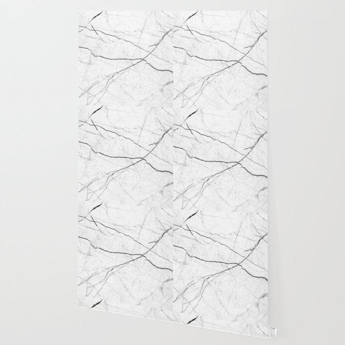preppy minimalist modern chic grey white marble wallpaper