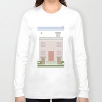 house Long Sleeve T-shirts featuring House  by Latoya's playhouse