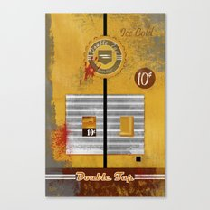 Double Tap Canvas Print