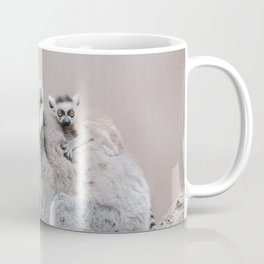 RINGTAILED LEMUR FAMILY by Monika Strigel Coffee Mug