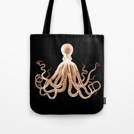 Octopus sea nautical beach coastal Tote Bag
