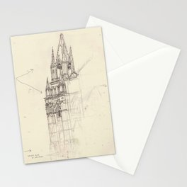Santa Ana El Salvador Ink Drawing Stationery Cards