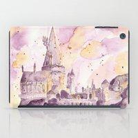 hogwarts iPad Cases featuring hogwarts by impalei