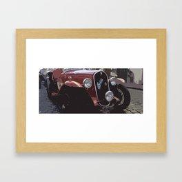 Mille Miglia No.96 Framed Art Print