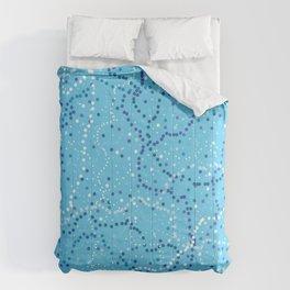 Milk Way Sky Blue Comforters