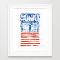 rocky Framed Art Prints featuring Rocky by Dan K Norris