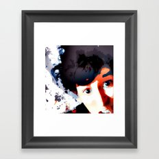 Uhh! Framed Art Print