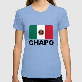El Chapo Mexican flag T-shirt