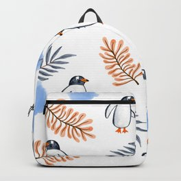 Penguin in Foliage Backpack
