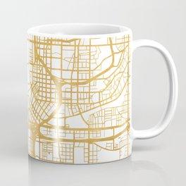 ATLANTA GEORGIA CITY STREET MAP ART Coffee Mug