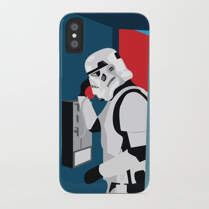 newest 332c6 c742a Stormtrooper Phone Home iPhone Case by j0nhernandez