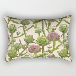 artichoke flowers Rectangular Pillow