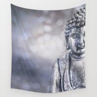 buddha Wall Tapestries featuring Buddha by LebensART Photography