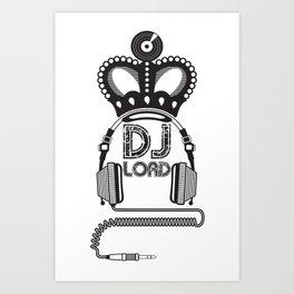 DJ Lord Art Print