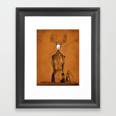 DressForm Deer #1  Framed Art Print