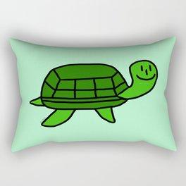 Awkward Turtle Rectangular Pillow