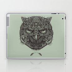 Warrior Owl Face Laptop & iPad Skin
