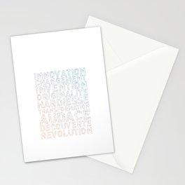 INNOVATION - SYNONYMS Stationery Cards