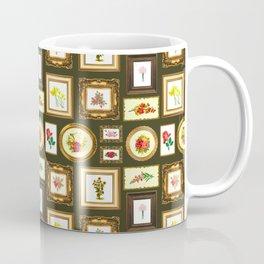 FRAMED FLORAL ART Coffee Mug