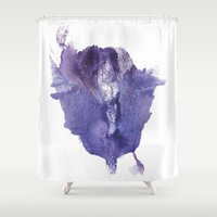 vagina Shower Curtains featuring Allie's Vagina No.2 by Nipples of Venus