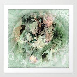 Beyond the circle Art Print
