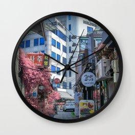 Long Lost Seoul Wall Clock